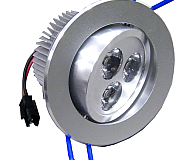 EC LED 3WR 3 Adjustable Recessed Light Dimmable